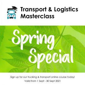 Transport and Logistics Masterclass spring special September 2021